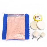 7Unids Removedor de Rayas de Vidrio 70g Kit de Pulido de Óxido de Cerio y Ruedas de 2 Pulgadas