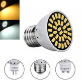 MR16 / E27 / GU10 LED-lamp 24 SMD 5733 480LM Pure White Warm Wit Spot Lightt Bulb 4.8W AC220V