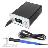 STC T12 OLED Soldering Station Quick Heating Electronic Welding Iron 200-450℃ 100-240V with 9501 Handle