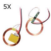 5-calowy, bezprzewodowy zasilacz cewki ładowarka zarządu bezprzewodowy moduł ładowania