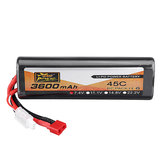 ZOP Power 7.4V 3600mAh 45C 2S Lipo Battery T Plug for RC Car Quadcopter