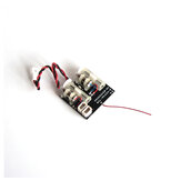 Oversky MXL-RX62H V2 Récepteur Intégré avec Dual Servo pour Frsky DSMX DMS2 FUTABA SFHSS