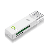 OV MU22 USB3.0 kaartlezer 2-in-1 multifunctionele TF SD-geheugenkaartadapter 250G 5Gbps voor computerlaptop
