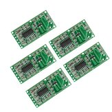 5pcs RCWL-0516 4-28V 3mA Microwave Radar Sensor Human Body Induction Switch Module Board Smart Induction Prober