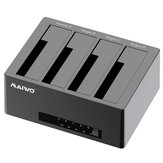 MAIWO SATA HDD SSD Duplicator HDD Docking Station Data Clone Support Up to 64TB Plug and Play for 2.5'' 3.5'' SATA SSD HDD
