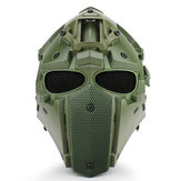 Wielofunkcyjny motocykl Motocross Anti-Tactical Military Adjustable Helmet + Fan + Mask + Goggles