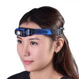 WUBENH3ヘッドライト7モード140LM回転可能なLEDヘッドランプ子供用女性男性用ハットキャップクリップオンライトサイクリングフィッシングヘッドランプ
