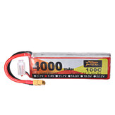 ZOP Power 7.4V 4000mAh 100C 2S Lipo Battery XT60 Plug for RC Racing Drone