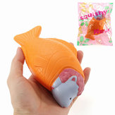 Squishy Fish Sheep Bread Cake 15cm Slow Rising With Packaging Collection Gift Decor Soft Toy