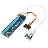 0.6m USB 3.0 PCI-E 1x tot 16x grafische kaart Extended Cable Card Adapter