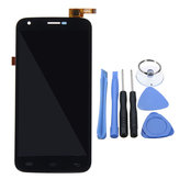 LCD Display + Touch Screen Digitizer Replacement With Repair Tools For Doogee Valencia 2 Y100 Pro 5.0
