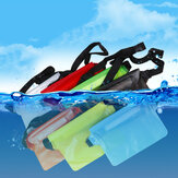 Bakeey Universal Big Large Capacity Swimming Diving PVC Translucent Mobile Phone Watches Storage Waist Pouch Waterproof Bag