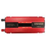 Inversor DC12 / 24V das energias solares do pico LCD 6000W ao conversor da CA 110V / 220V