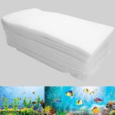 10Pcs Double Layer Biochemical Cotton Filter Foam Pond Aquarium Fish Tank Sponge