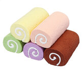 Cake Squishy Swiss Roll 10CM Wrist Pad Hand Pillow Rising Fun Toys Decoration Gifts