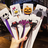 Girls Cute Pumpkin Cartoon Headbands Hair Clips Hair Ornament Halloween Party Hairpins Fashion Hair Accessories
