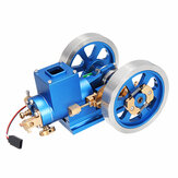 In voorraad STEM Stirling Engine Full Metal verbrandingsmotor Hit & Miss Gas model Engine Gift Collection Toy