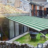 8 aghi anti-UV parasole netto esterno giardino protezione solare ombra solare per serra di piante