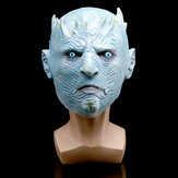 Game of Thrones Night King Latex Mask Headgear A Song of Ice and Fire Halloween Latex Mask
