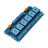 6 Channel 5V Relay Module High And Low Level Trigger BESTEP for Arduino - products that work with official Arduino boards