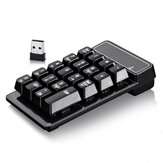 Klein 2,4 GHz draadloos numeriek toetsenbord Mini Suspension Number Pad Keyboard voor laptop pc