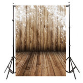 3x5FT Vinyl Wooden Wall Floor Photography Backdrop Background Photo Studio Props