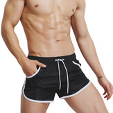 Mens Loose Quick Drying Sport Surf Beach Board Shorts