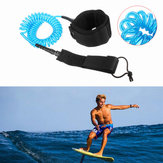 IPRee® 10ft 7mm Coiled Surfboard Leine Surfing Stand Up Paddle Board String Bein Seil