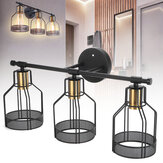 Industrial Style Hanging Lamp Pendant Lampshade Light Cover Retro Pipe Vintage Loft Cafe Without Bulbs