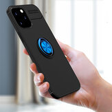 Bakeey for iPhone 12 Pro Max Case 360º Rotating Magnetic Ring Holder Soft Silicone Shockproof Protective Case Back Cover