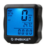 INBIKE 528 Wired Bike Computer Waterproof Backlight Digital Speedometer Cycle Velo Computer Odometer