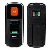 RFIDParmakİziKilitErişimKontrolü Okuyucu Biyometrik Erişim Denetleyicisi Kapı Açacağı Desteği SD Kart