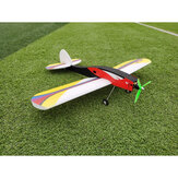 Libélula 700mm envergadura EPP Low-winged Training RC Avião Kit