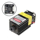FB04-2500 2500mW 445nm Azul Láser Módulo 2 * 2.54-2P Modulación TTL / PWM DIY Grabador para EleksMaker