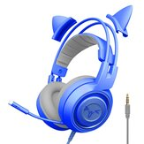 SOMIC G951S Cat Ear Headphones Over-Ear Headphones Gaming Headset with Mic for PS4 for PS5 Computer
