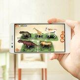 Tarjeta de Educación AR Digoo BB-CQ1 108 Uds Aprendizaje Temprano Interactivo Educativo para Niños 3D Speelgoed
