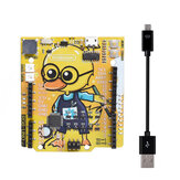 RGBDuino UNO V1.1 Geek Duck Development Board ATmega328P CH340C Micro USB Vs UNO R3 for Raspberry Pi 3B Raspberry Pi 4B Geekcreit for Arduino - products that work with official Arduino boards
