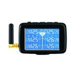 CAREUD U901T TPMS Sistema de Monitoramento de Pressão dos Pneus sem Fio com 6 Sensores Externos Substituíveis Bateria LCD Display Para Auto Truck