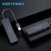 VENTION 4 ports USB 3.0 HUB adaptateur USB Flash lecteurs avec 4 * USB 3.0 pour Macbook Mac Pro XPS ordinateur portable