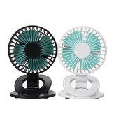 Mini clip sur ventilateur Ventilateur de refroidissement rotatif à 360 ° Ventilateur de refroidissement à 3 vitesses