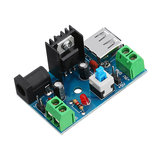 DC-DC 7-15V to 5V Power Supply Module 9V to 5V 12V to 5V with Heat Sink Switch Board