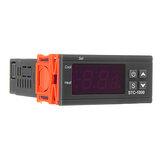 Geekcreit®STC-1000110V/220V / 12V / 24V 10A 2 RelayOutput LED Digital Pengontrol Suhu Termostat Inkubator Dengan Sensor Pemanas Dan Pendingin