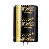 3 Adet 15000 UF 63 V 30x50mm Radyal Alüminyum Elektrolitik Kondansatör Yüksek Frekans 105 ° C