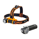 LUMINTOP HL3A 2800LM 4000K/5000K/6500K LED Headlamp Camping Hunting Fishing Waterproof Flashlight Headlight