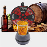 Spinner Spin The Shot Turntable Glass Alcohol Drinking Game Roulette Board Game Toy Party