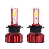 70W 7000LM LED Fahrzeugscheinwerferlampe Nebelscheinwerfer H4 H7 H8/H9/H11 9005 9006 DC9-36V Weiß 2ST