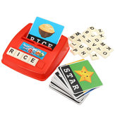 Kids English Spelling Alphabet Letter Game Early Learning Educational Toy Tool