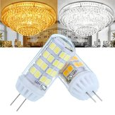 AC100-240V 4.5W No Strobe Ceramic G4 52LED Corn Light Bulb for Ceiling Chandelier Lamp Replacement