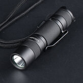 2020 CONVOY T2 Nichia 219C/XPG2 Military Fan EDC Tactical Flashlight IPX8 Temperature Protection Mini Torch OP Strong Floodlight