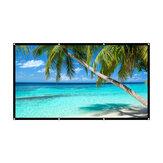 Tela HD Tela de projeção de 120 polegadas 16: 9 Tela de projeção portátil de tela dobrável portátil ao ar livre